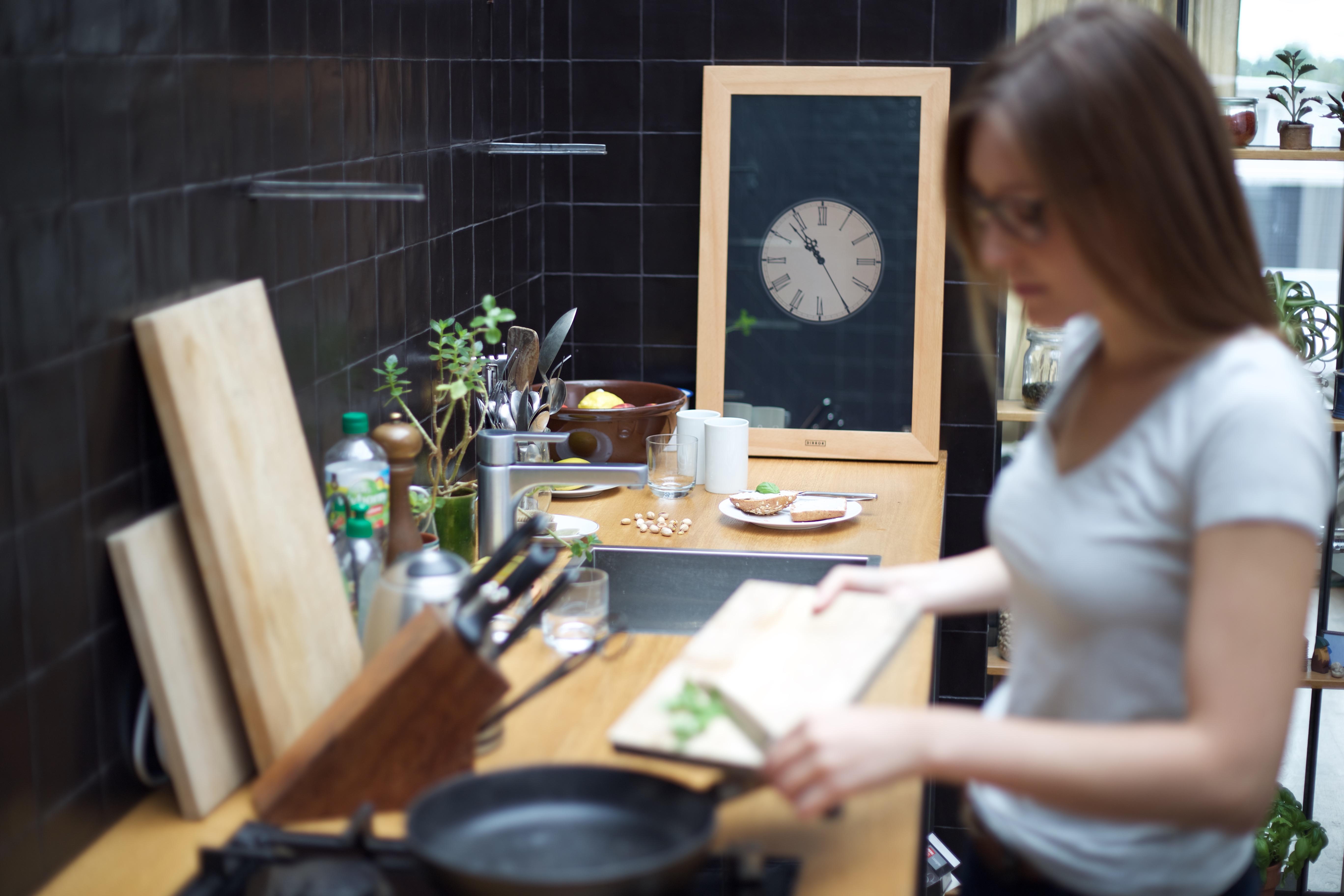 DIRROR - digitaler Spiegel in der Küche