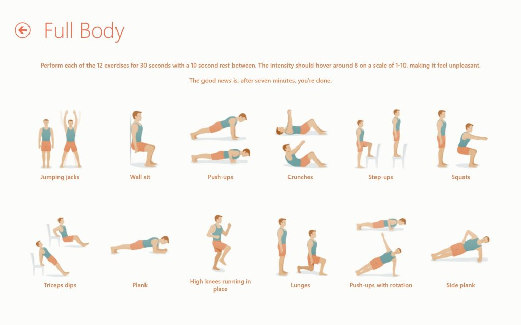 Seven-7-Minute-Workout-Challenge-starting-exercises